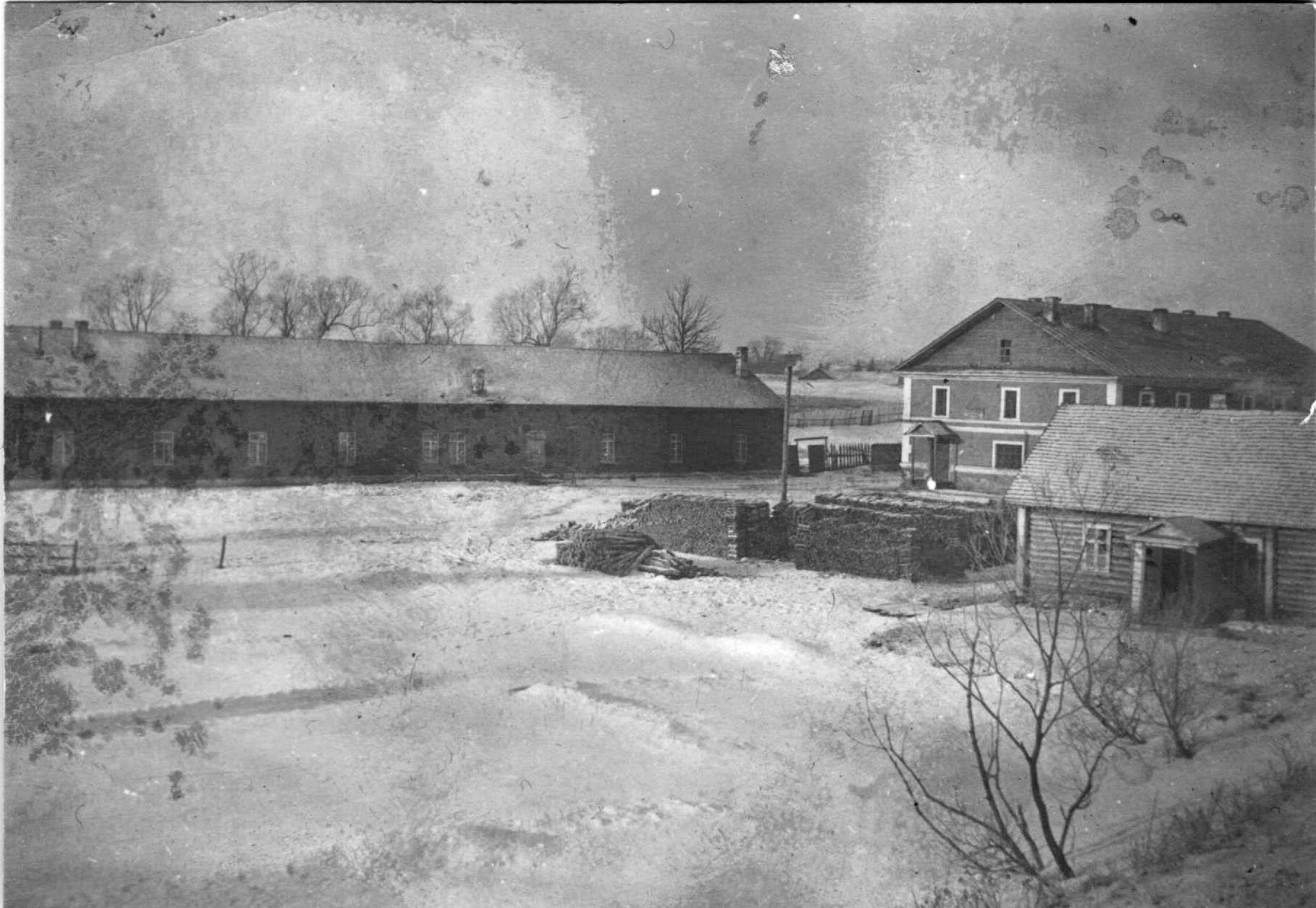 Вид на Комендантский пруд в крепости