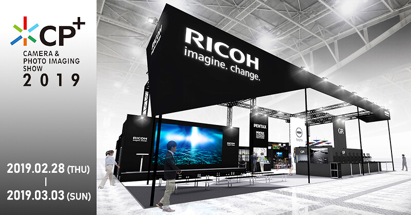 RICOH IMAGING to Exhibit 2 Reference Product at CP+ 2019 Camera and Imaging Show
