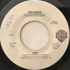 VAN HALEN:JUMP(LABEL SIDE-A)