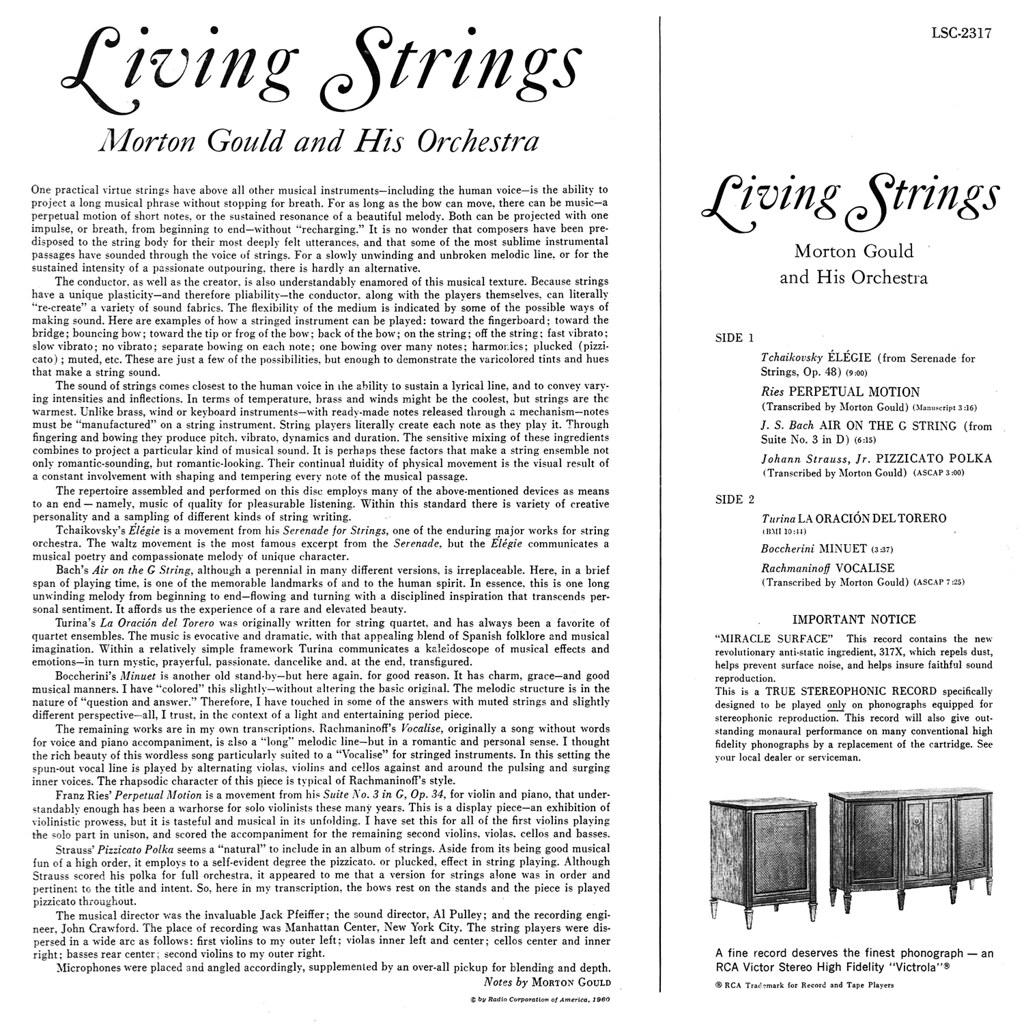 Morton Gould - Living Strings