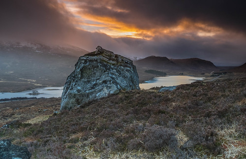 Above Loch Droma.