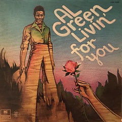 AL GREEN:LIVIN' FOR YOU(JACKET A)