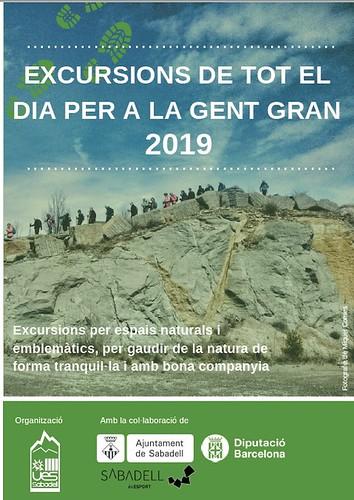 Excursions per a la Gent Gran 2019 TOT EL DIA