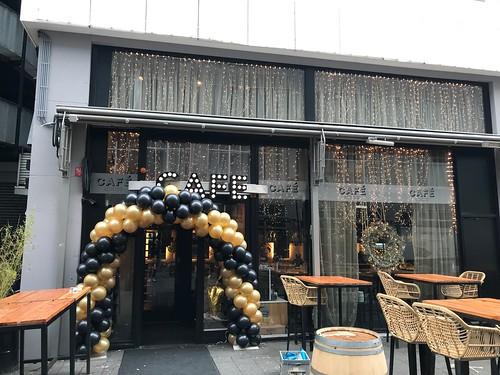 Ballonboog 6m Oud en Nieuw Cafe in the City Rotterdam