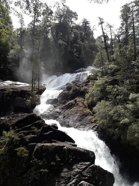 Cascada los cantaros,parque nacional Nahuel Huapi !!