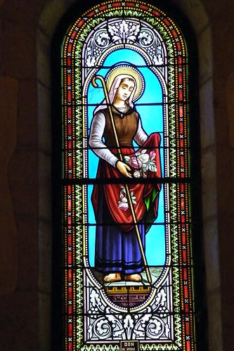 20090528 099 1107 Jakobus Kirche Fenster Elisabeth Heilige