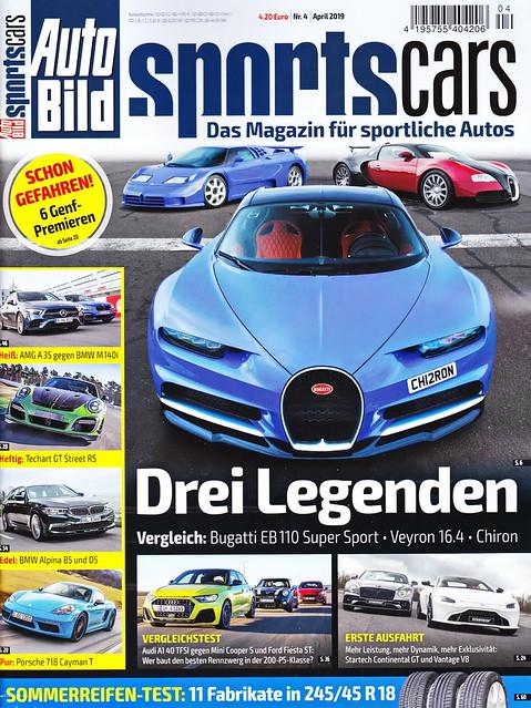 Auto Bild Sportscars 4/2019