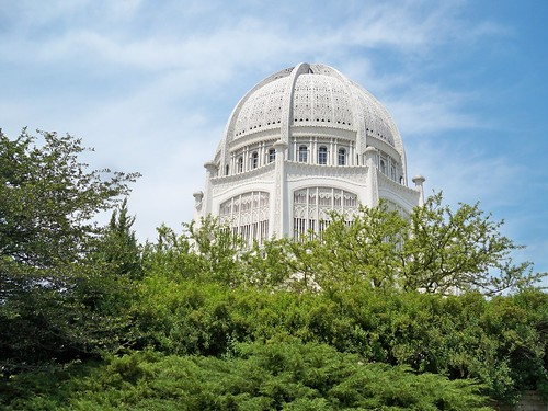 Chicago's Bahai Temple. From History Comes Alive Touring Chicago's North Shore
