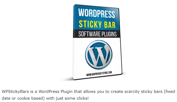 WPStickyBars WordPress Plugin