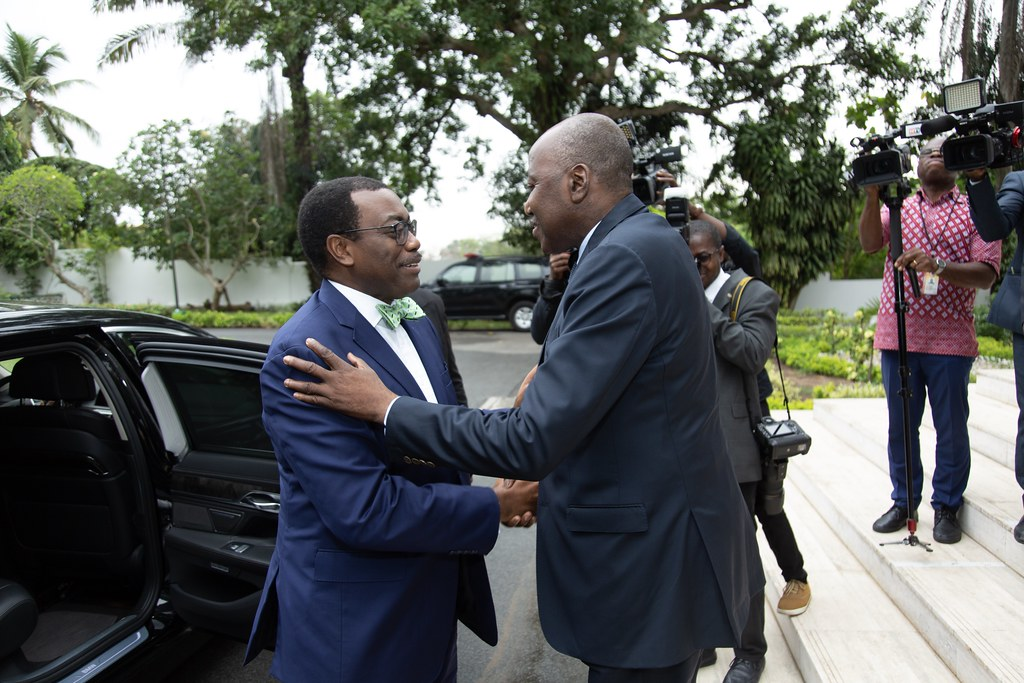 Meeting with Prime Minister of Côte d'Ivoire H.E Amadou Gon Coulibaly