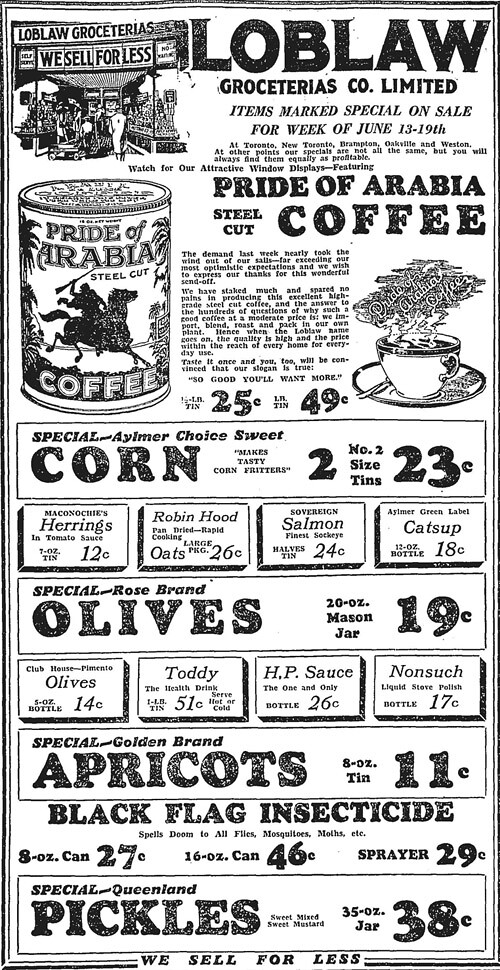 globe 1930-06-13 pride of arabia ad