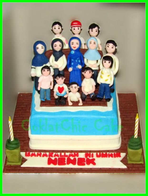 Cake Family NENEK 15 cm