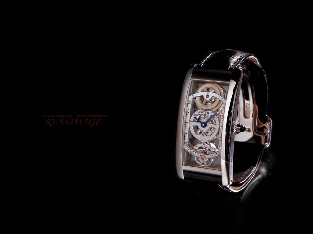Cartier TANK CINTRÉE WATCH (6) - 3K