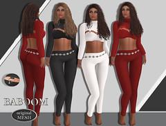 Baboom- Lizzy- Pants Shirt