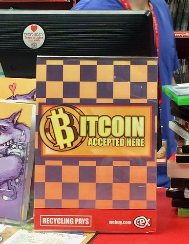 Bitcoin at POS in Swindon
