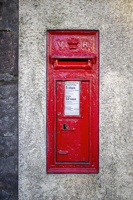 VR Wall Box, East Princess Street, Helensburgh