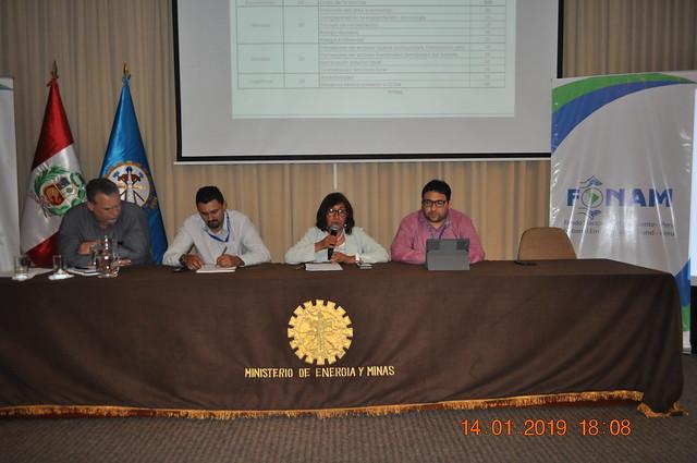Reunión técnica de trabajo con autoridades del MINEM