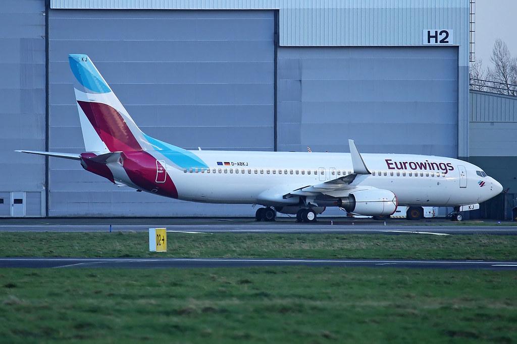 Eurowings Boeing 737-86J, D-ABKJ.