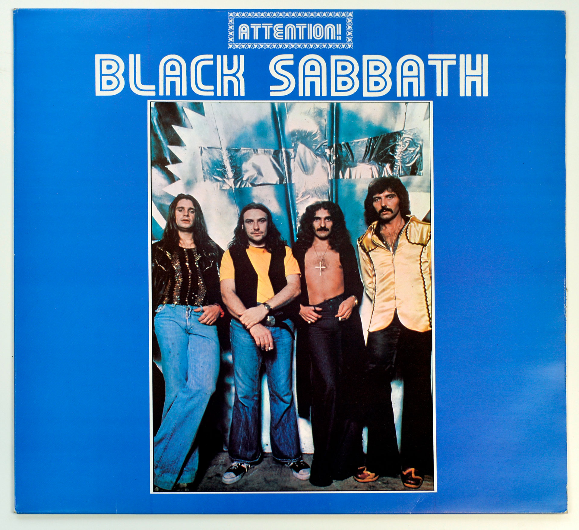 Photo of album front cover BLACK SABBATH - Attention! Volume Two
