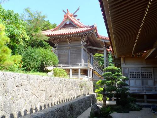 Shinto-Tempel in Naha auf der Insel Okinawa
