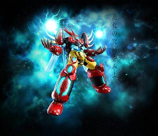 【官圖&販售資訊更新】超合金魂 GX-87 《真蓋特機器人》「蓋特皇帝(ゲッターエンペラー)」情報公開 !