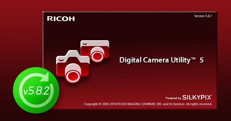 Digital Camera Utility 5 update v5.8.2
