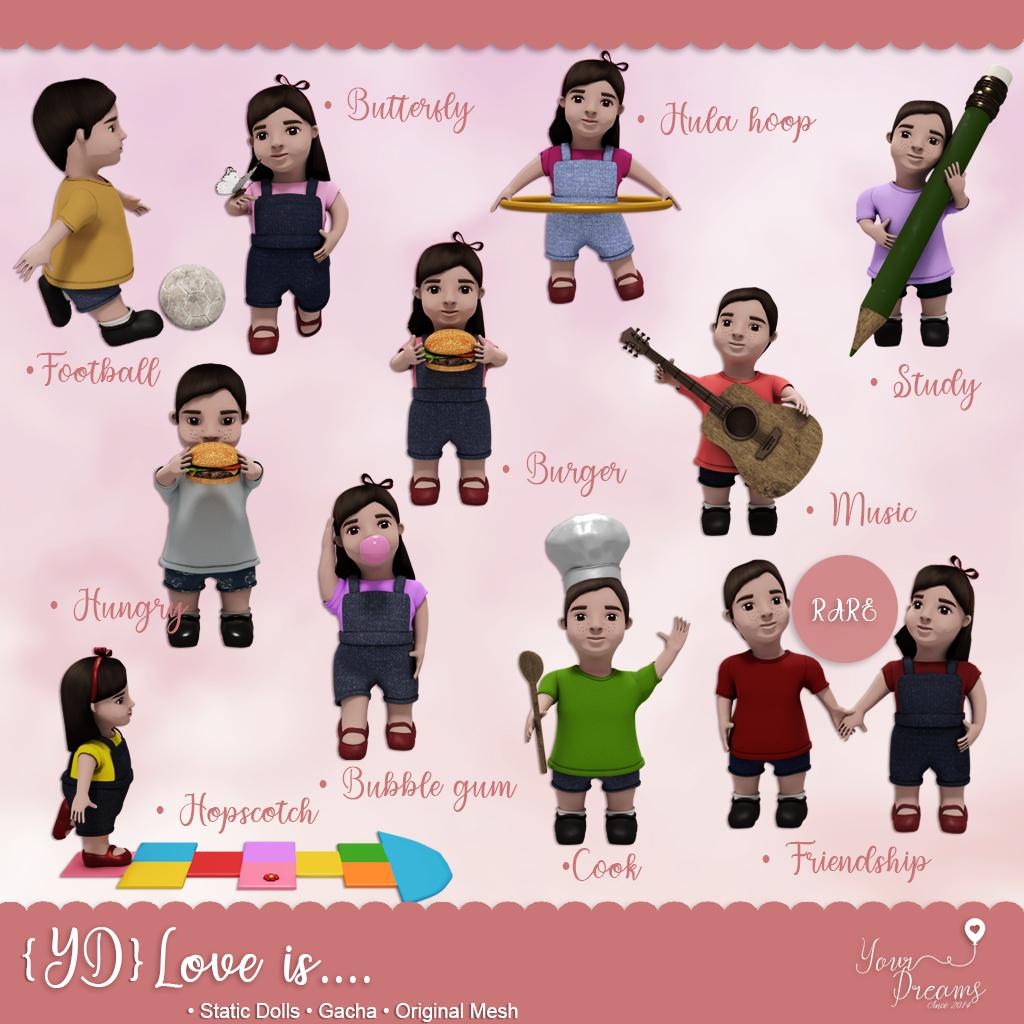 {YD} Love is…
