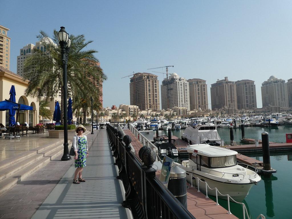 La Croisette, Porto Arabia, The Pearl, Doha