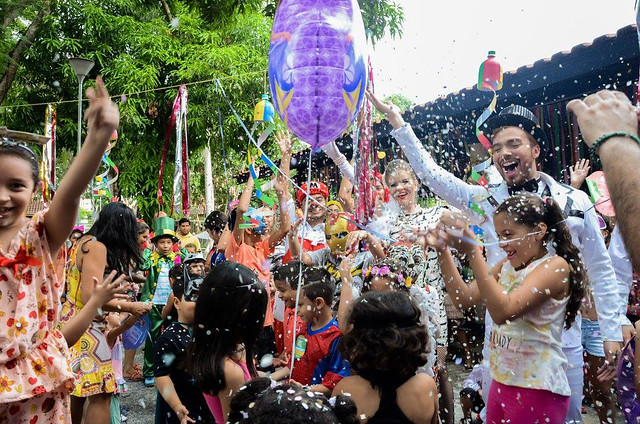 Bailinho e concurso de fantasias vão animar Parque Cidade da Criança