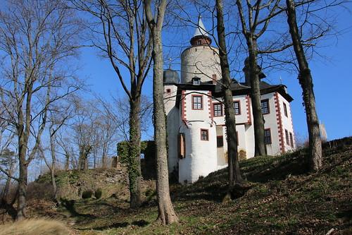 Deutschland, Thüringen, Burg Posterstein