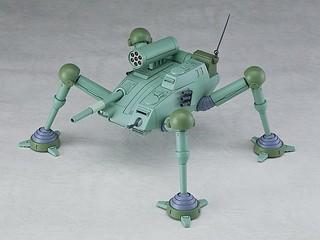 COMBAT ARMORS 《太陽之牙 達格拉姆》四足載具「Blizzard Gunner」1/72比例組裝模型作品!MAX15 1/72 SCALE アビテート F35C ブリザードガンナー