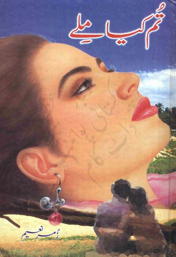 Tum Kia Male is a very well written complex script novel by Zumer Naeem which depicts normal emotions and behaviour of human like love hate greed power and fear , Zumer Naeem is a very famous and popular specialy among female readers