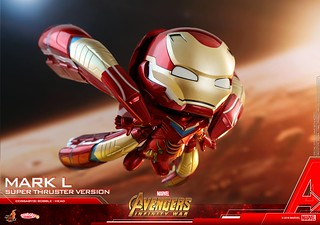 Hot Toys - COSB547《復仇者聯盟3:無限之戰》鋼鐵人馬克50 (超級推進器版本) Iron Man Mark L (Super Thruster Version) Cosbaby (S) Bobble-Head