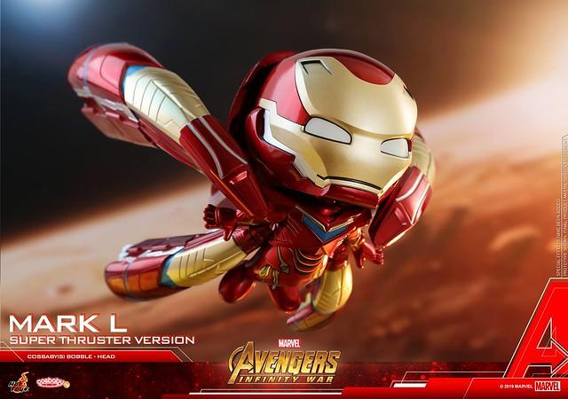 Hot Toys - COSB547《復仇者聯盟3:無限之戰》鋼鐵人馬克50 (超級推進器版本) Iron Man Mark L (Super Thruster Version) Cosbaby (S) Bobble-Head