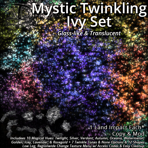 Mystic Twinkling Ivy for Saturday Sale!