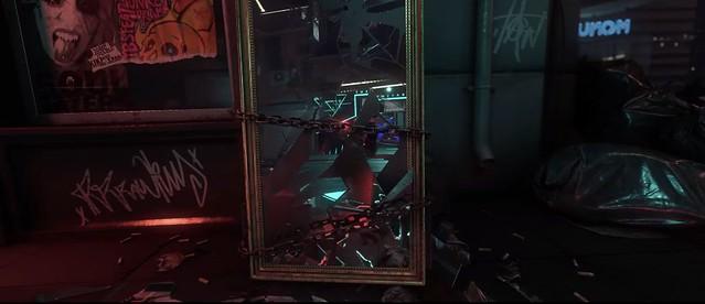 CryEngine Neon Noir - Miroir Craquelé