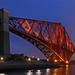 Forth Bridge at dusk