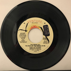 SHELLIE JACOBS:YOU BRING OUT THE BEST OF THE WOMAN IN ME(RECORD SIDE-A)