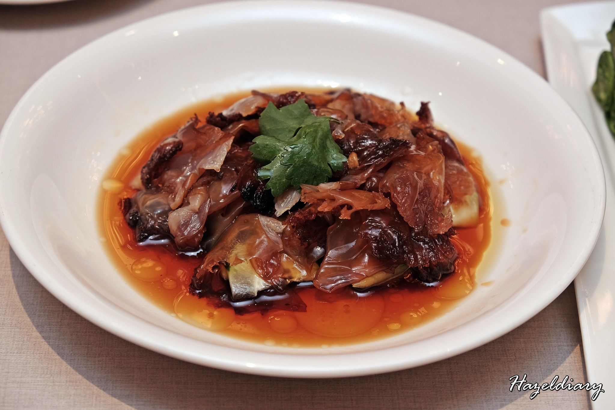 Paradise Dynasty-Wisma Atria-Chilled Jellyfish in Soy Sauce Vinaigrette