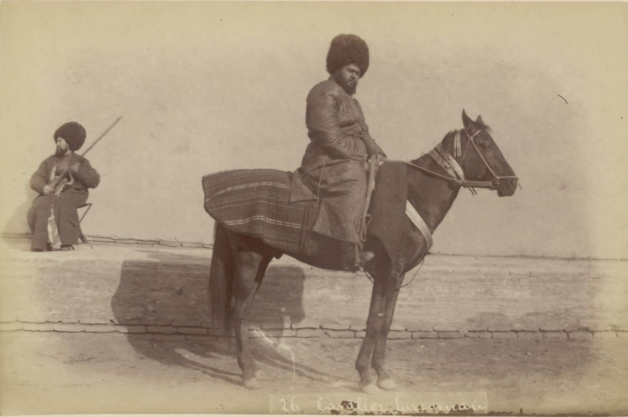 26. Туркменский наездник