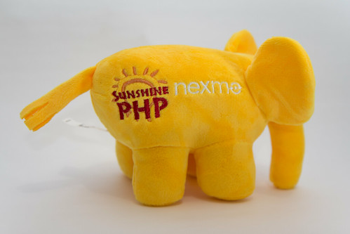 Sunshine PHP Nexmo elePHPant | by Atomic Taco