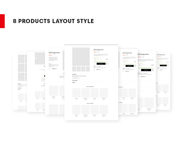 Ap Bemine PrestaShop Gift Theme - mutiple product layouts