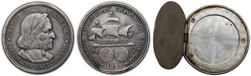 1892 Columbian Half Dollar Opium Coin