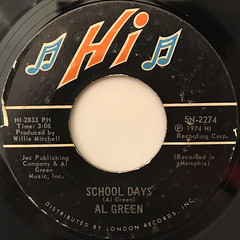 AL GREEN:SHA-LA-LA(MAKE ME HAPPY)(LABEL SIDE-B)