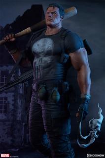 惡棍們塊陶啊~ Sideshow Collectibles Premium Format Figure 系列 Marvel Comics【制裁者】The Punisher 1/4 比例全身雕像作品 普通版/EX版