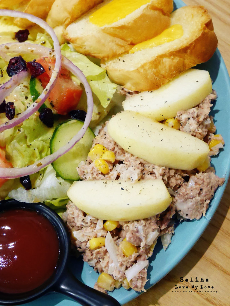捷運新店區公所站附近咖啡廳早午餐餐廳brunch吃貨ing (5)