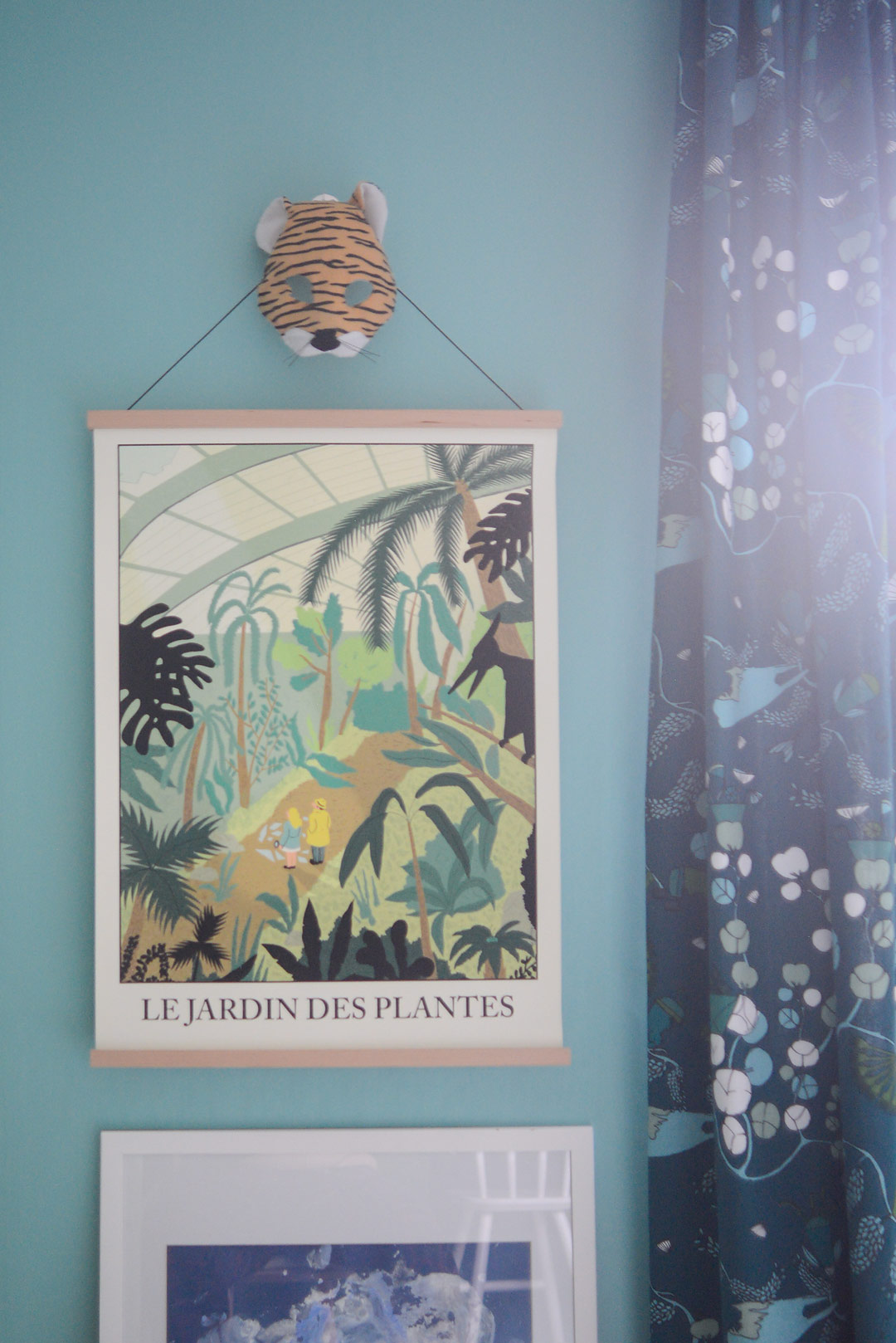 Le Jardin des Plantes poster by Bailly Simon