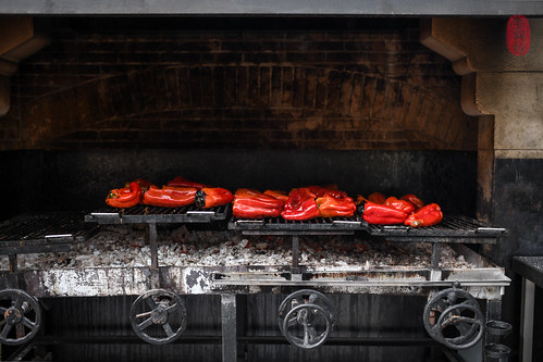Peppers on the grill. | by ulterior epicure