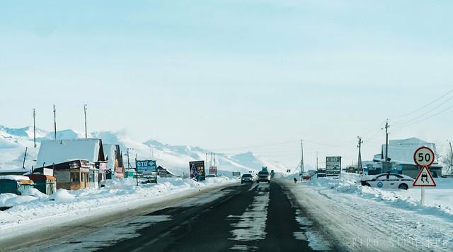 Suusamyr Valley, Kyrgyzstan
