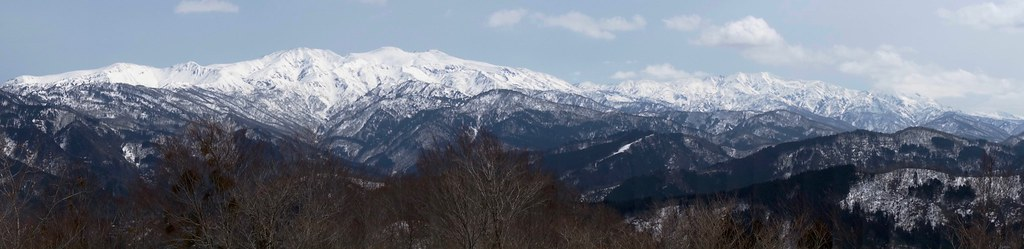 Hakusan mountain ranges